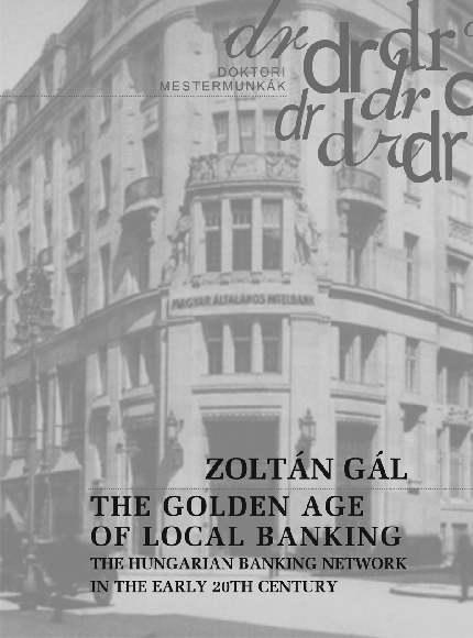 The golden age of local banking. The hungarian banking network in the early 20th century